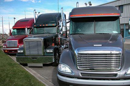 truck dealer lot
