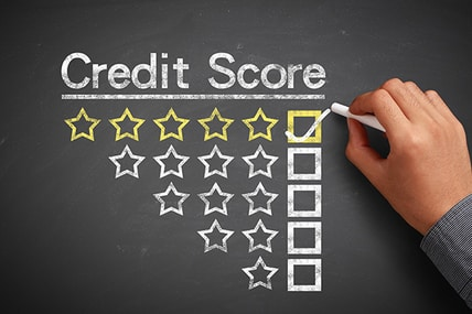 business credit score chart