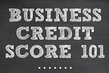 business credit score infographic preview