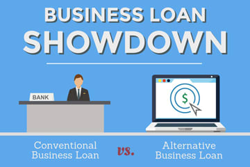 alternative business loan infographic