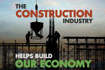 construction industry infographic