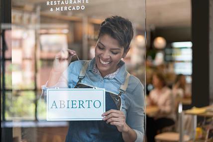 hispanic female business owner