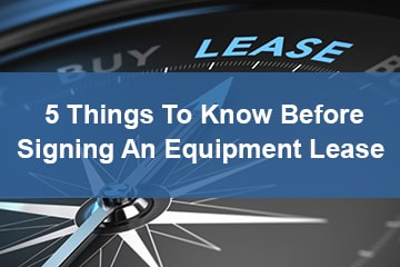 small business equipment leasing white paper