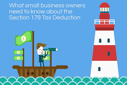 section 179 tax deduction infographic from balboa capital