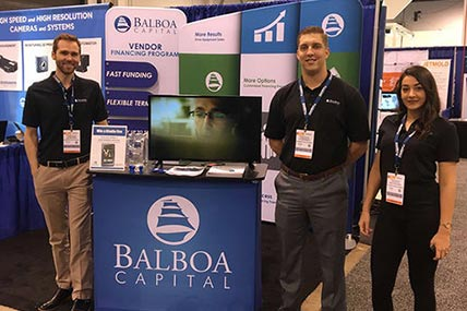 balboa capital tradeshow booth