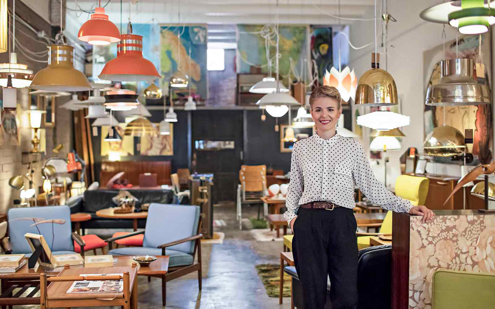 furniture shop owner who can benefit from unsecured business loans
