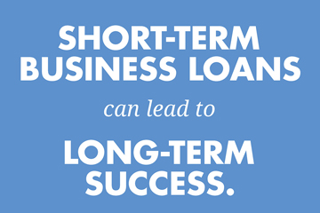 short term business loans infographic preview