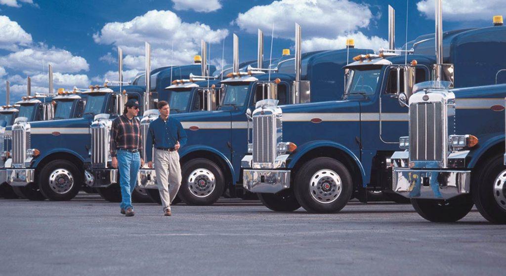 truck vendor and customer