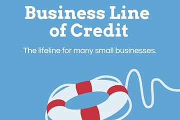 business line of credit infographic preview
