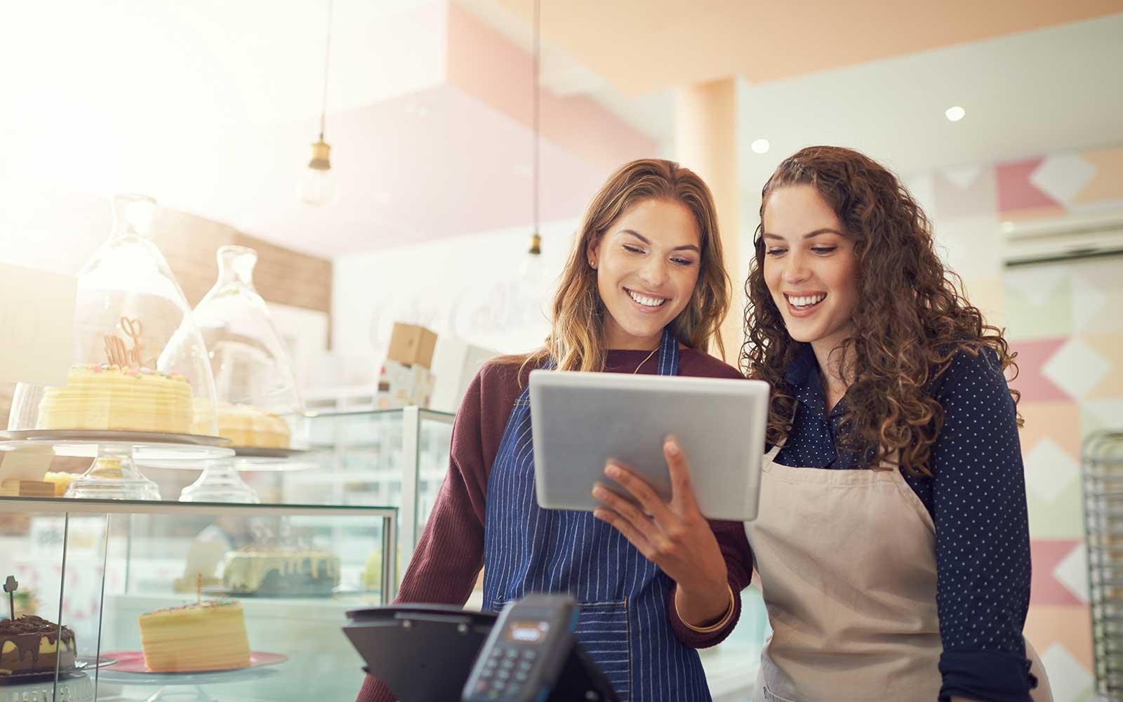 female entrepreneurs applying for business line of credit