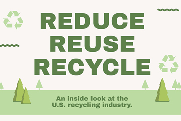 recycling industry infographic preview