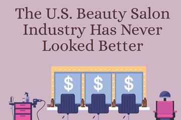 beauty salon industry infographic thumbnail