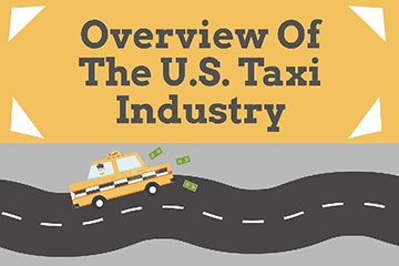 taxi industry infographic