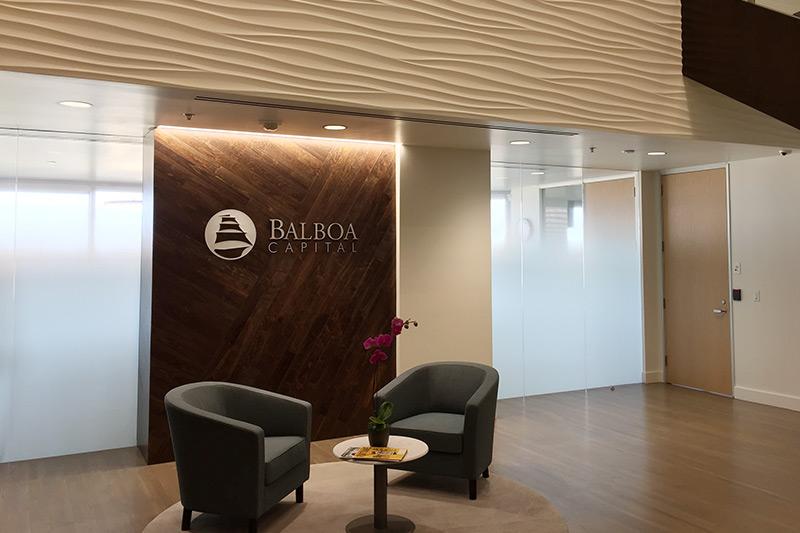 balboa capital office lobby in costa mesa california