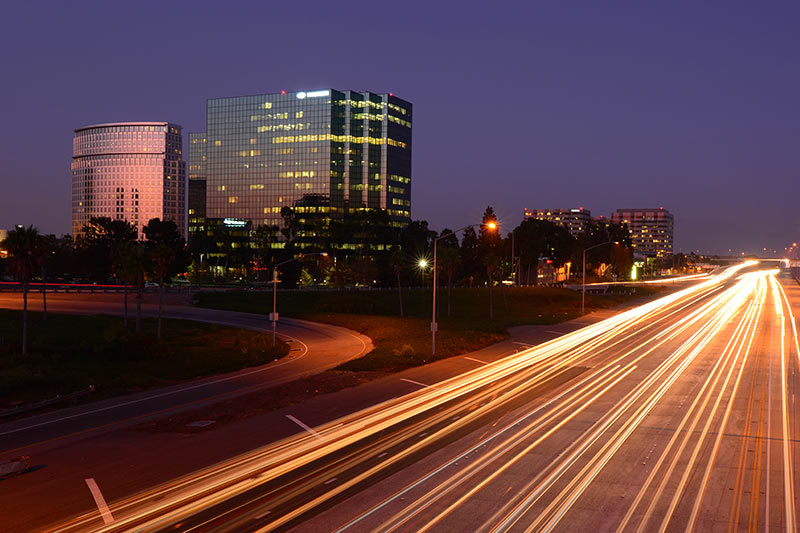 balboa capital headquarters office next to the freeway