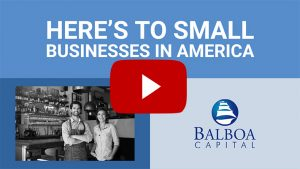 here's to small businesses