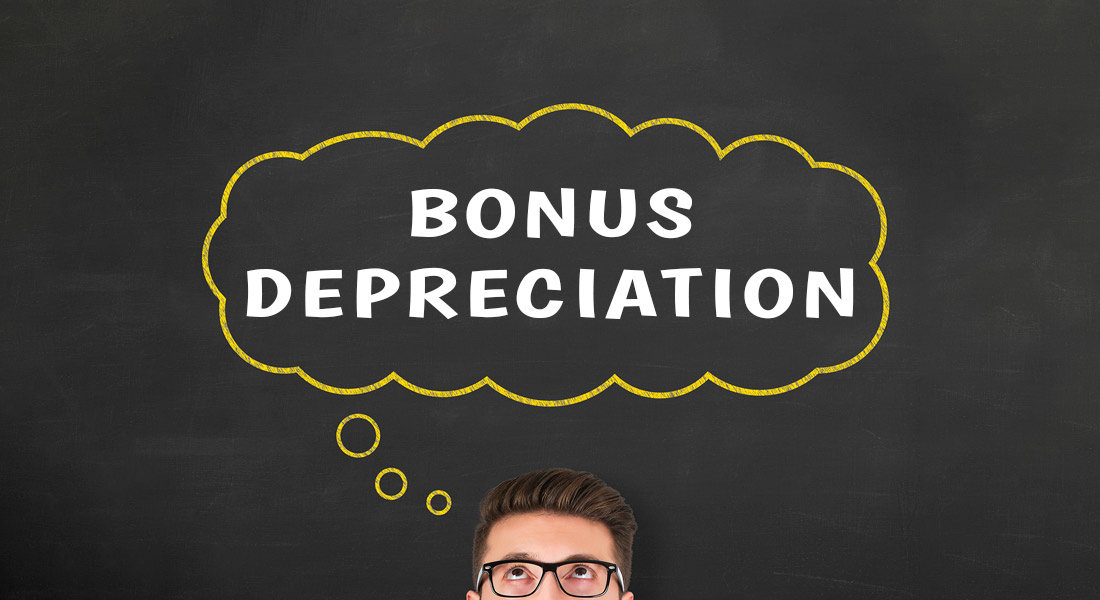 what is bonus depreciation