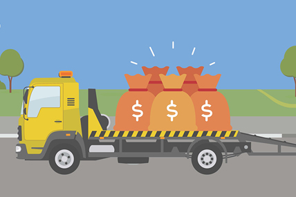 infographic towing business success