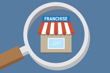 u.s. franchise industry infographic